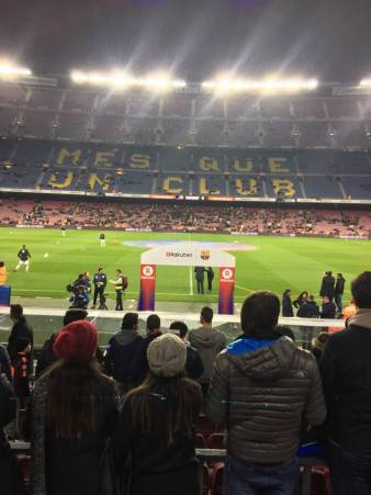 Camp Nou, a temple of football