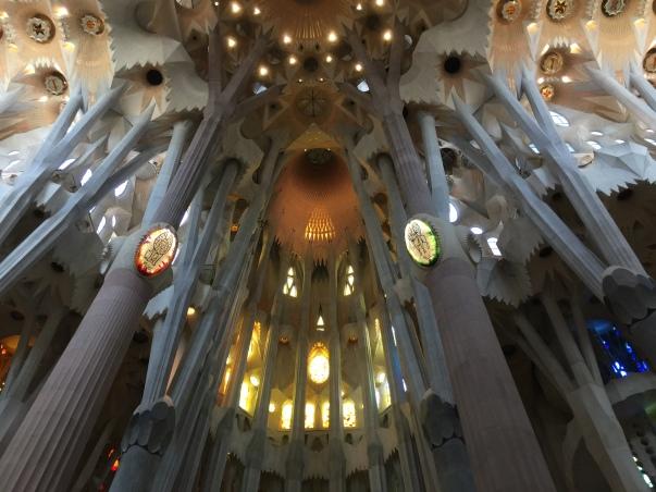 Inside the Sagrada Família